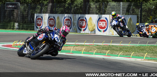 #ImolaWorldSSP - Déclarations des pilotes World Supersport 2018 à Imola