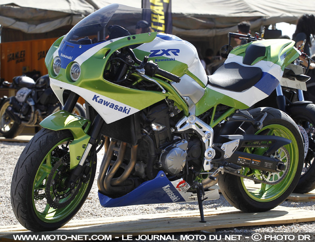 Interview Japan Legends : notre ZXR900 sera suivie de FZR, GSXR, CBR...