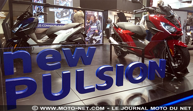 Peugeot Motocycles remplace son scooter Satelis par le Pulsion