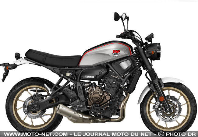 eicma milan xsr 700 xtribute yamaha exploite le souvenir de la xt500. Black Bedroom Furniture Sets. Home Design Ideas