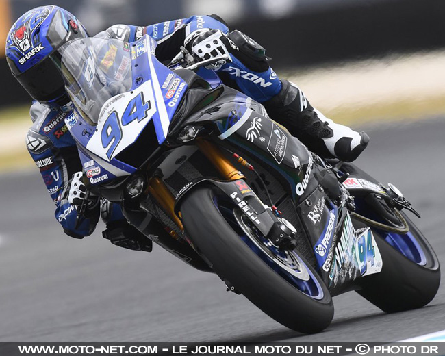 Cluzel et Mahias en embuscade aux premiers tests Supersport de Phillip Island
