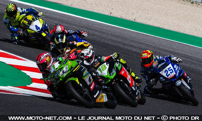 World Supersport 300 : Andy Verdoïa gravit son premier podium mondial !