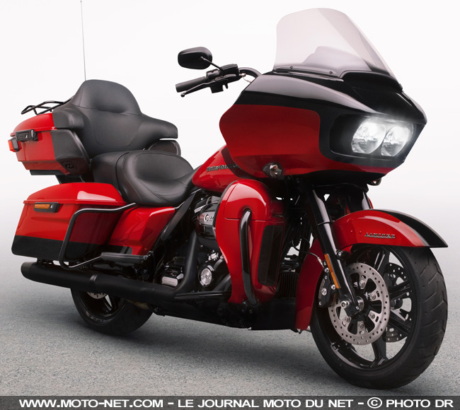 Harley-Davidson Road Glide Limited et CVO 2020 : Very Easy Riders