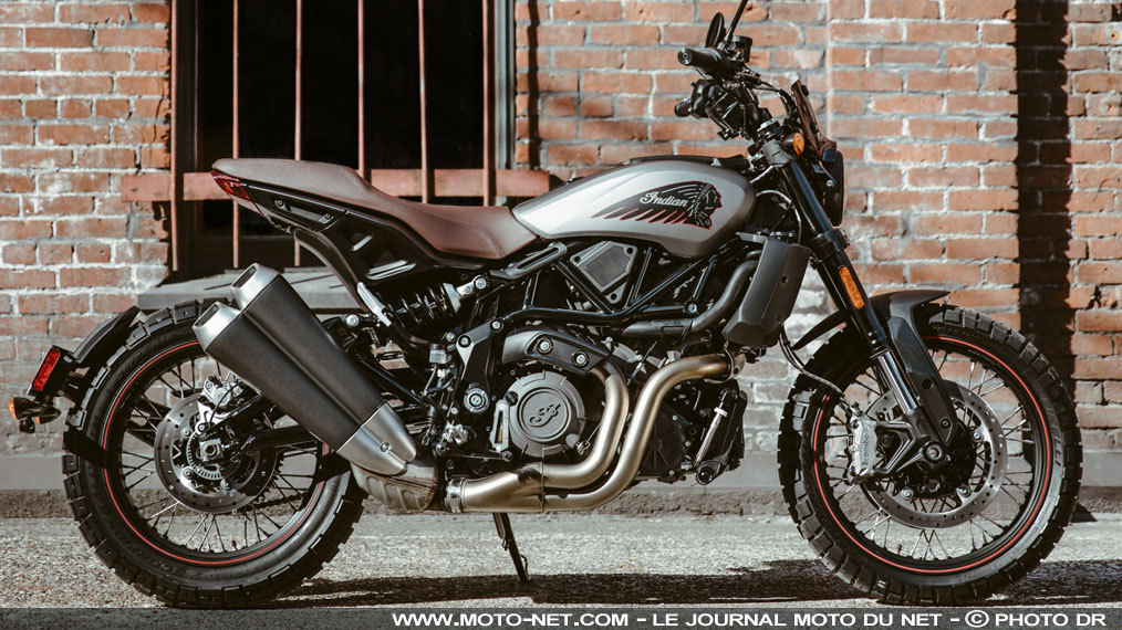 L'Indian FTR 1200 Rally 2020 joue la carte scrambler
