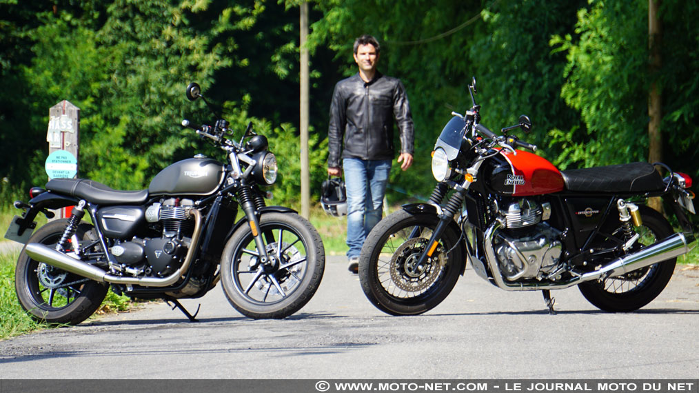 Duel Royal Enfield Interceptor 650 Vs Triumph Street Twin : lutte de classe