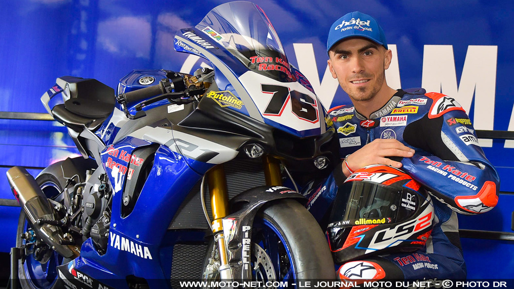 Interview Loris Baz : avec Yamaha et Ten Kate, le but est de monter sur des podiums le plus vite possible