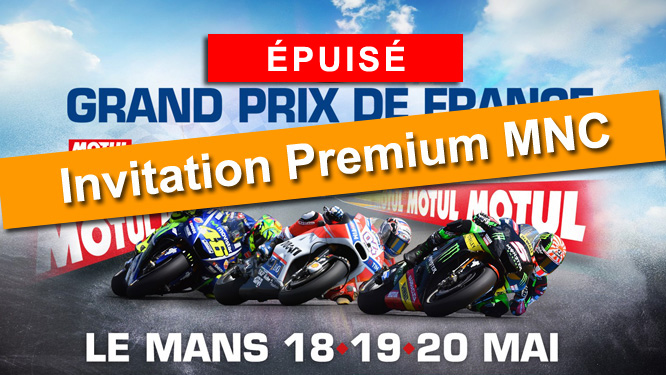 Votre invitation au GP de France Moto 2018
