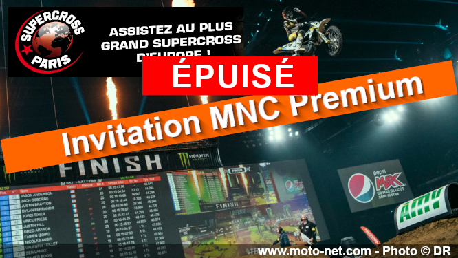 MNC vous invite au Supercross de Paris 2019
