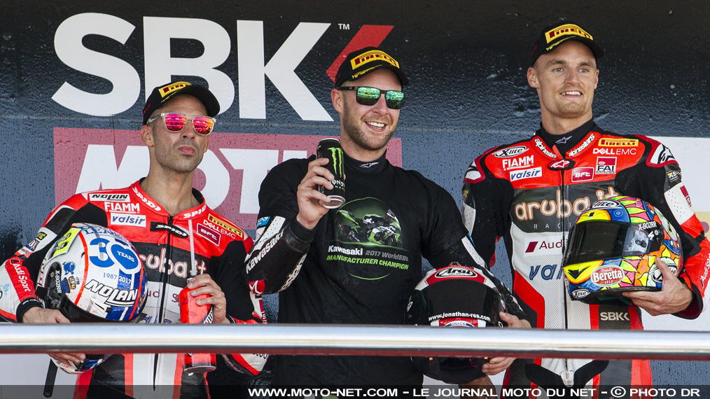 Déclarations des pilotes World Superbike à Jerez
