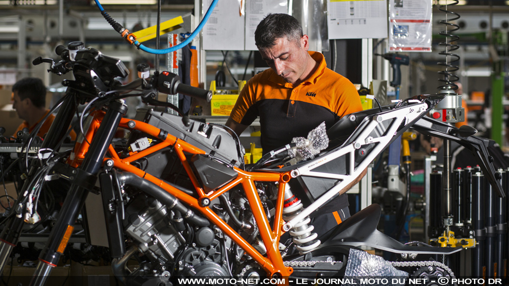 KTM passe en 2016 la barre des 200 000 motos vendues