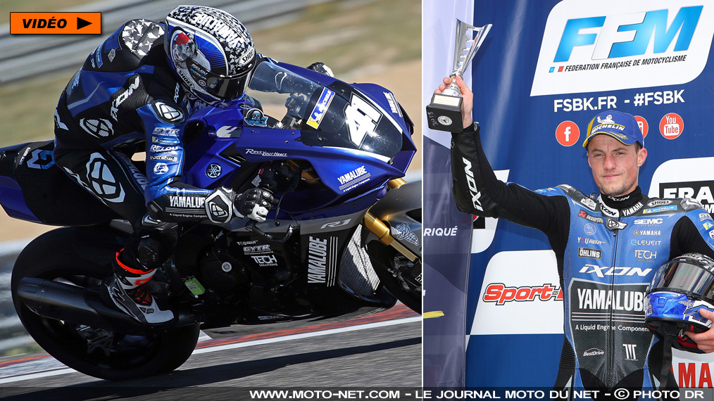[Visio-interview 1/3] Qui est Mathieu Gines, double champion de France Superbike ?