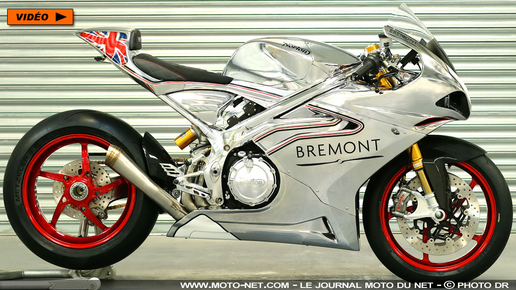 "Norton V4 RR : la ""Superb bike"" passe la seconde"