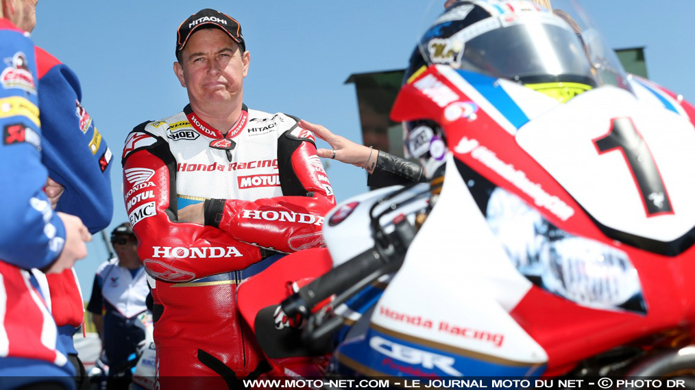 TT 2017 : John McGuinness se blesse à la North West 200