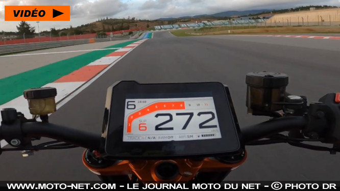 Au guidon de la nouvelle KTM 1290 Super Duke R avec Chris Fillmore