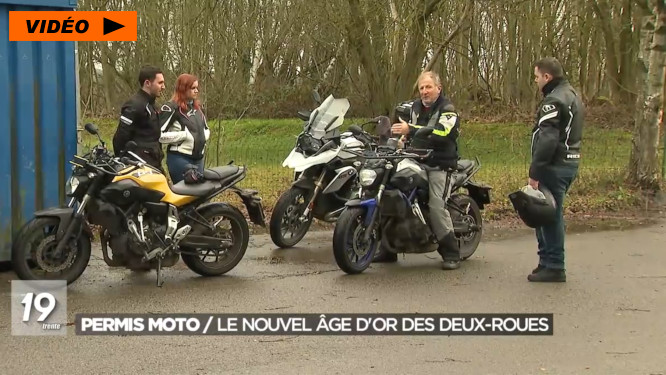 De plus en plus de motards en Belgique