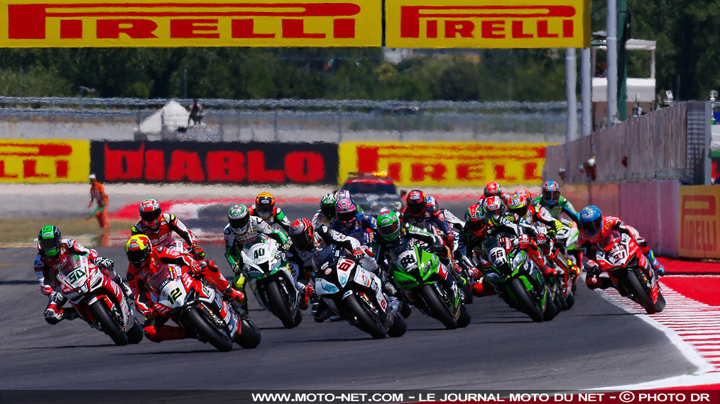 Le World Superbike et Pirelli courront encore ensemble en 2019 et 2020