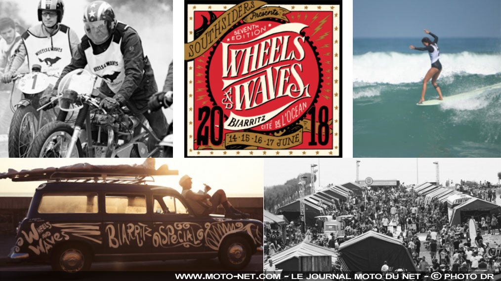 Programme et tarifs des Wheels and Waves 2018