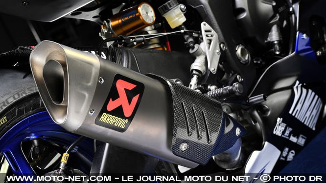 La Yamaha YZF-R6 2017 s'exhibe en version Racing