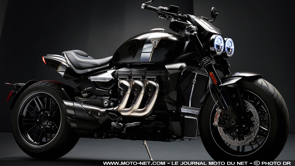 motos triumph confirme sa nouvelle rocket 3 avec une s rie limit e tfc. Black Bedroom Furniture Sets. Home Design Ideas