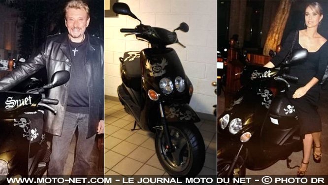 7000 euros pour le scooter de Johnny ?
