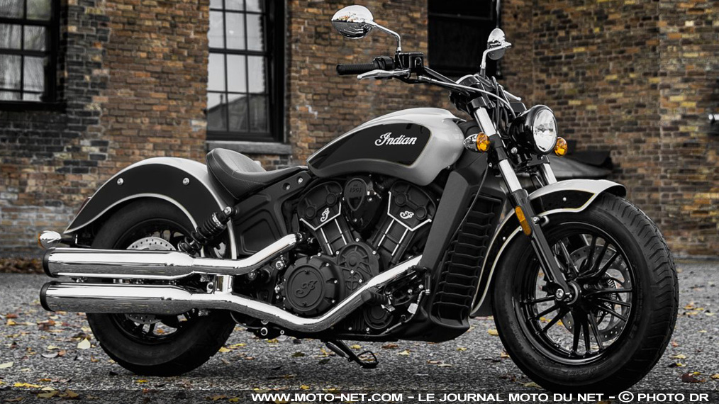 permis moto les deux mod les indian scout et scout sixty passent l 39 a2. Black Bedroom Furniture Sets. Home Design Ideas