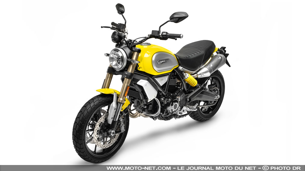 motos ducati scrambler 1100 special et sport 2018 le scrambler monte en gamme. Black Bedroom Furniture Sets. Home Design Ideas