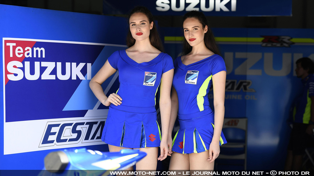 Les umbrella girls les plus sexy du GP de Malaisie MotoGP