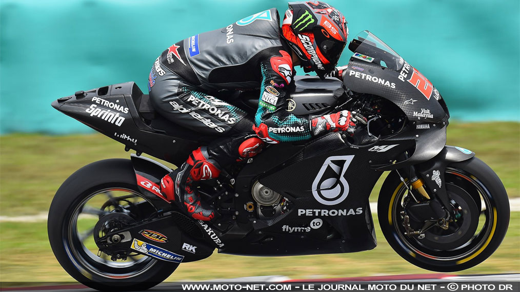 Tests Sepang J3 : Quartararo confirme, Zarco progresse