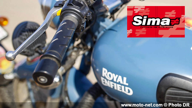Royal Enfield distribuée en France par la SIMA