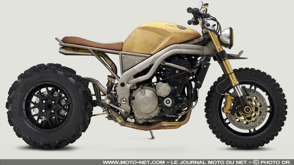 Classified Moto transforme une Speed Triple 1050 2007