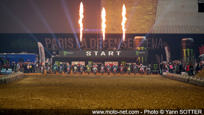 Le Supercross de Paris 2019 en images