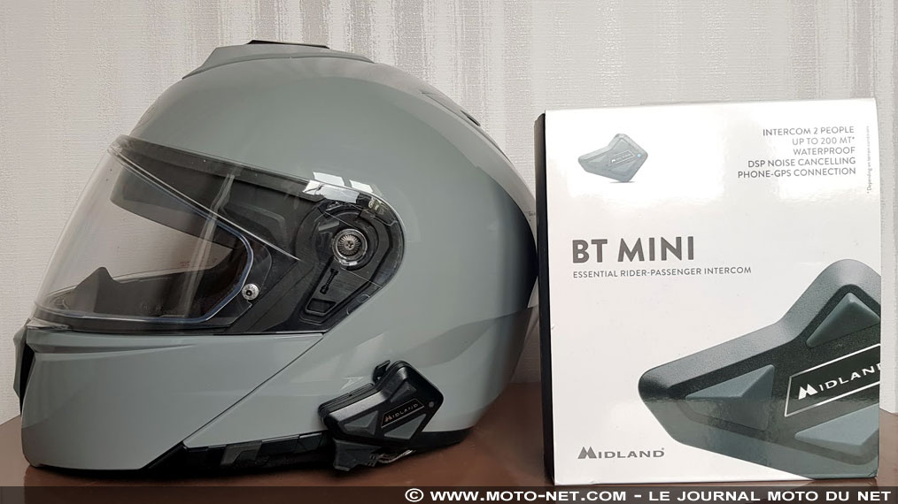 Essai intercom moto Midland BT Mini : maxi services ?
