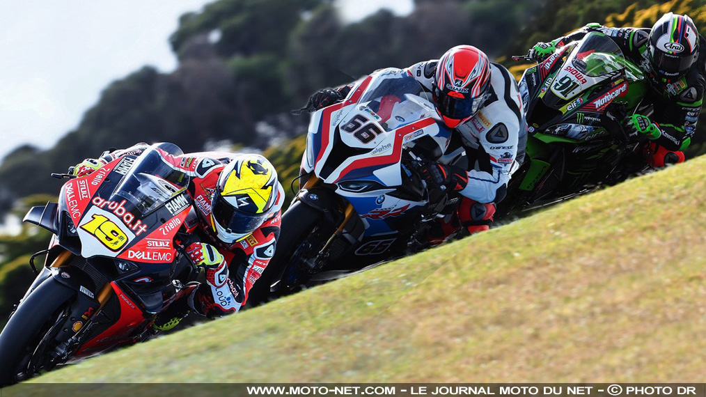 Ducati et BMW devancent Kawasaki aux tests officiels de Phillip Island