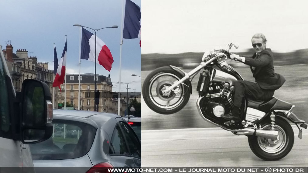 Traverser Paris en anciennes ? Possible avec une moto de collection !