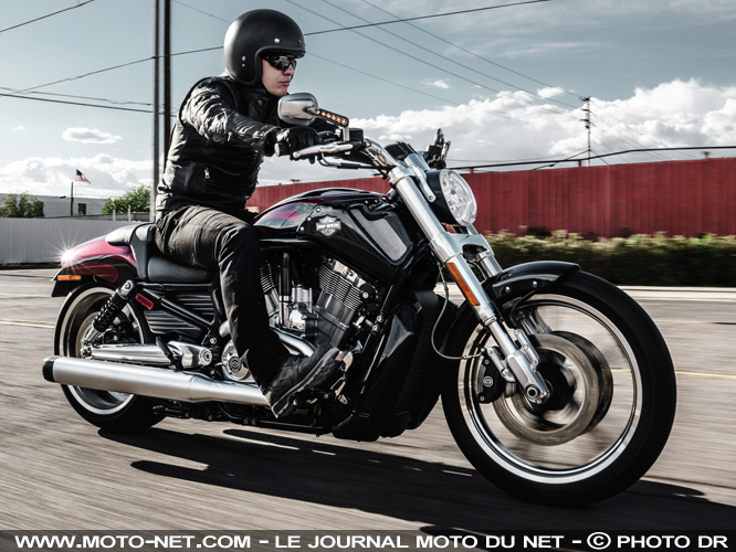 Harley-Davidson tire un trait sur le V-Rod