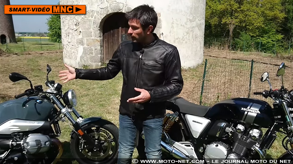 Duel BMW R nine T Pure Vs Honda CB 1100 RS : partie cycle