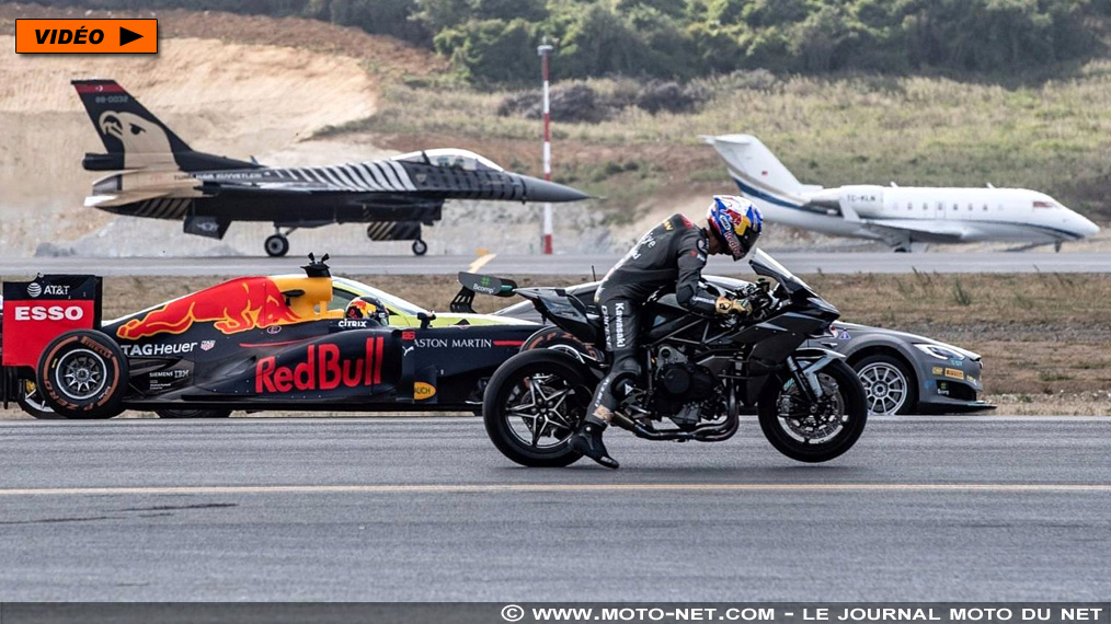 wsbk vid o sofuoglu et sa ninja h2r remportent une course moto auto et avion. Black Bedroom Furniture Sets. Home Design Ideas