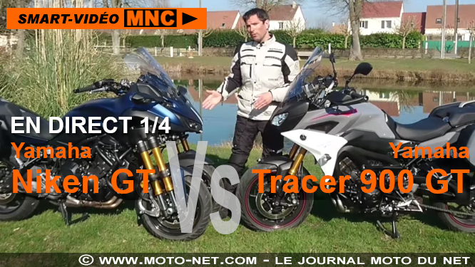 Duel Niken GT Vs Tracer 900 GT : présentation en direct