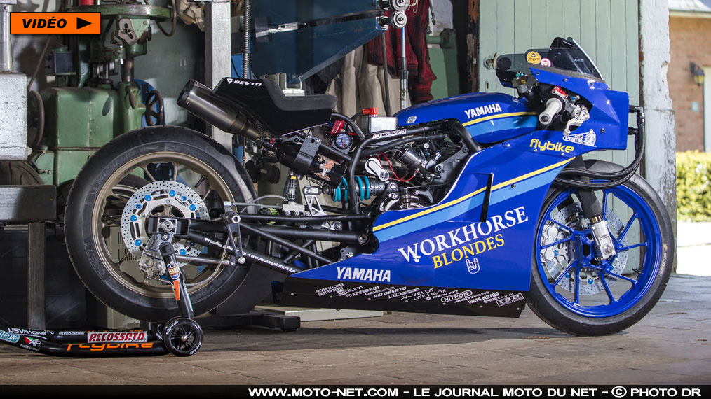 Prépa moto : la Yamaha XSR700 Sultans of Sprints de Workhorse Speed Shop